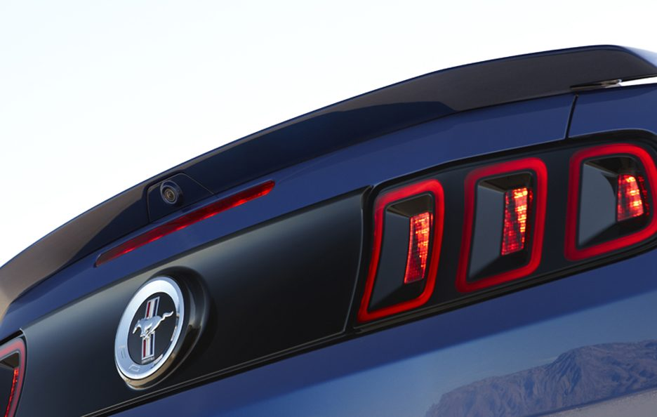 Ford Mustang - Il posteriore