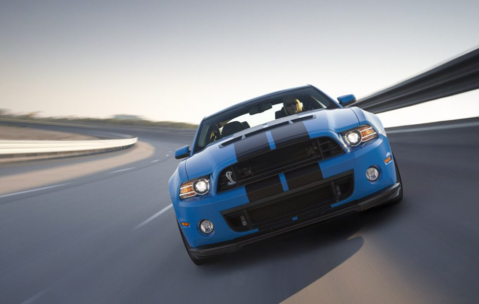 Ford Mustang Shelby GT500 - Frontale