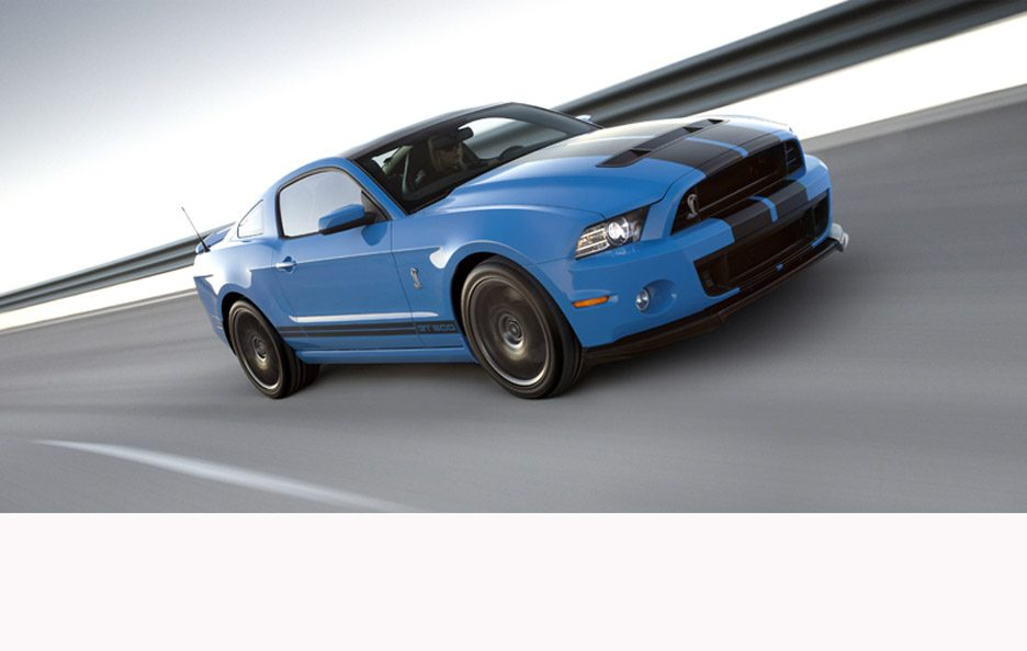 Ford Mustang Shelby GT500 - In motion