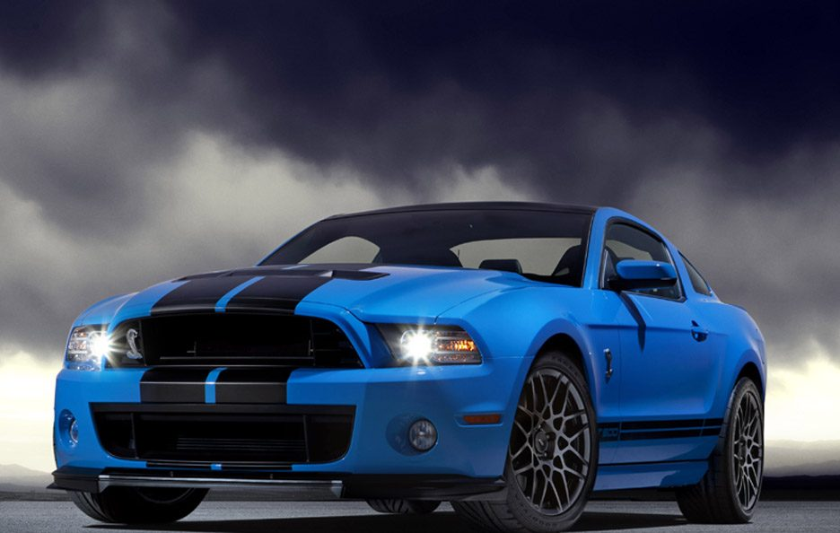Ford Mustang Shelby GT500 - La linea