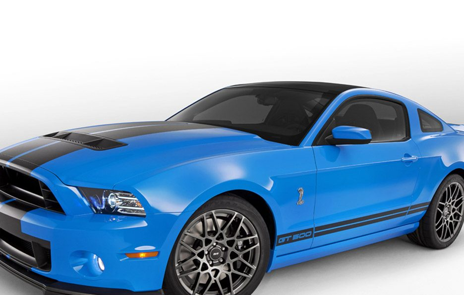 Ford Mustang Shelby GT500 - Profilo frontale