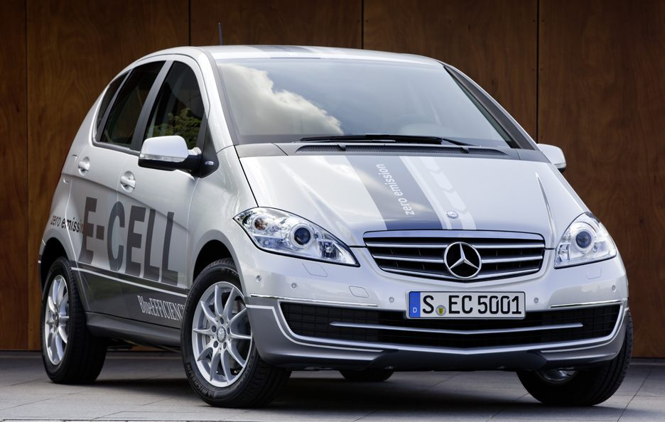H2Roma - Mercedes classe a e-cell
