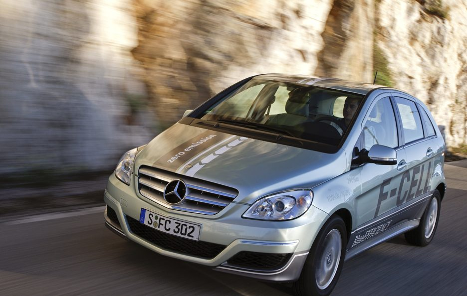 H2Roma - Mercedes classe b f-cell