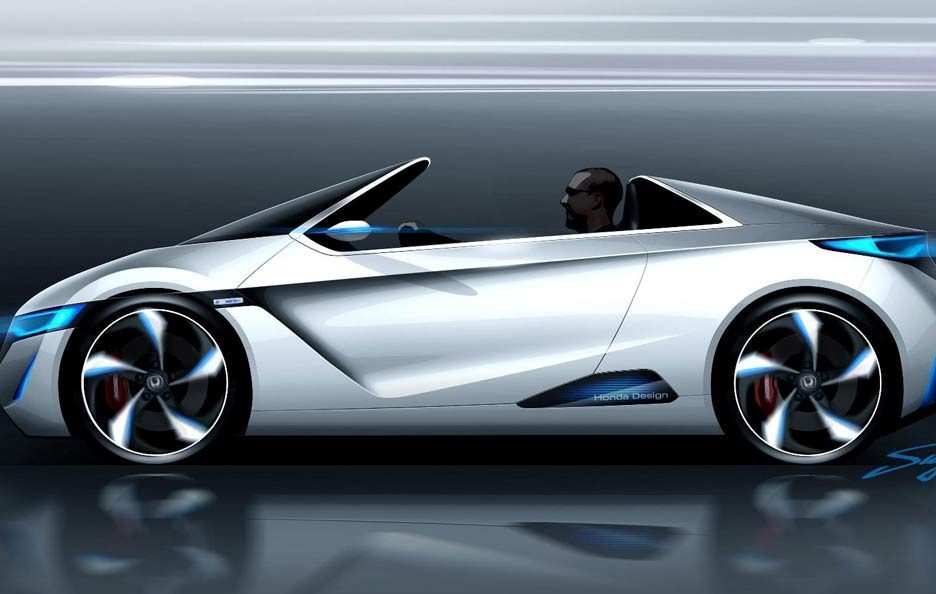 Honda Small Sports EV concept - Laterale