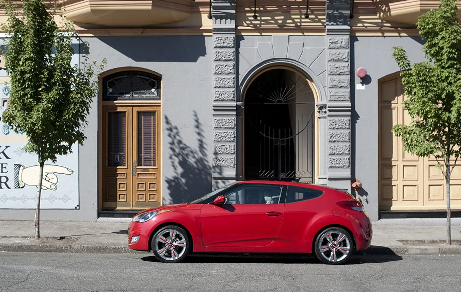 Hyundai Veloster - Laterale