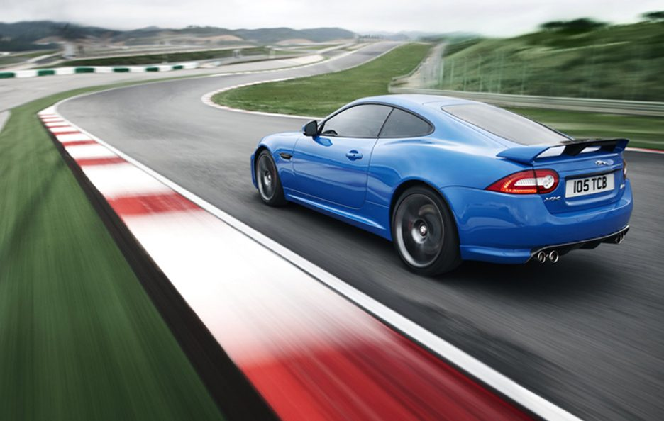 Jaguar XKR-S - Il retrotreno