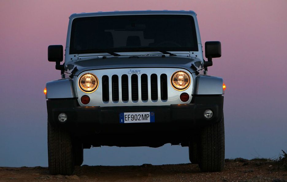Jeep Wrangler Unlimited 2013 - Frontale