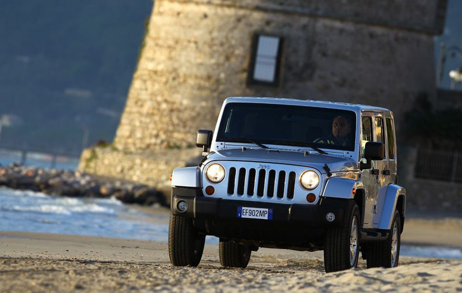 Jeep Wrangler Unlimited 2013 - Il frontale