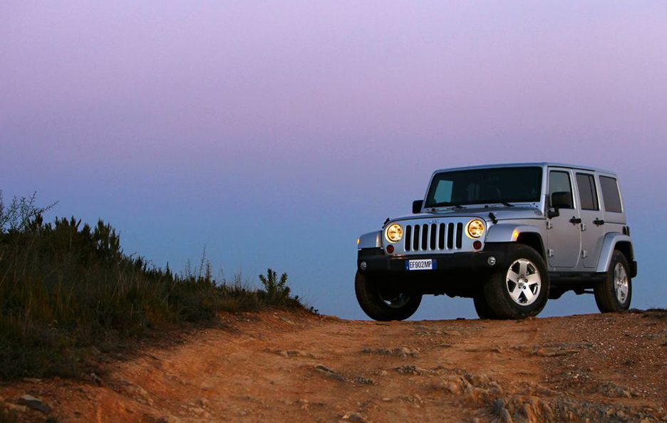Jeep Wrangler Unlimited 2013 - Linee