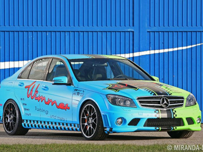Mercedes C63 by Wimmer
