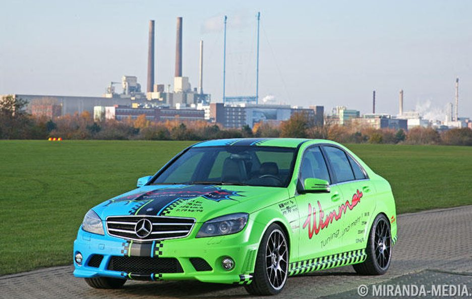 Mercedes C63 AMG by Wimmer - Design
