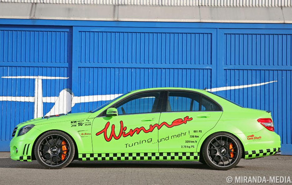 Mercedes C63 AMG by Wimmer - Profilo