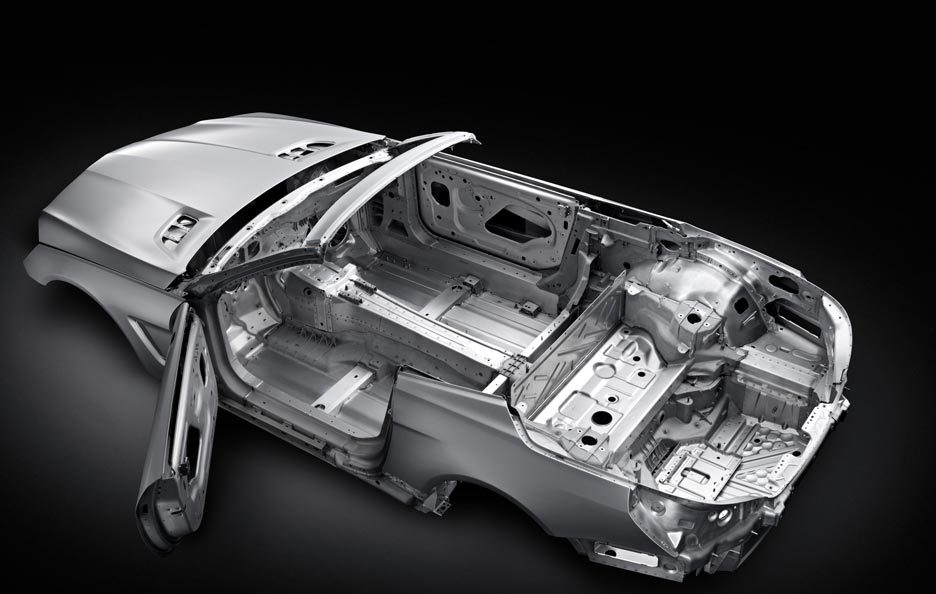 Mercedes SL - Overview laterale sinistra