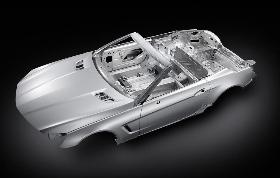 Mercedes SL - Overview verticale