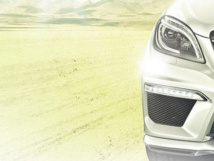 Mercedes ML 63 AMG: il teaser
