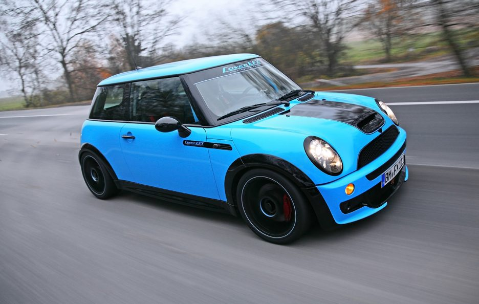 Mini Cooper S JWC R53 by CoverEFX - In motion