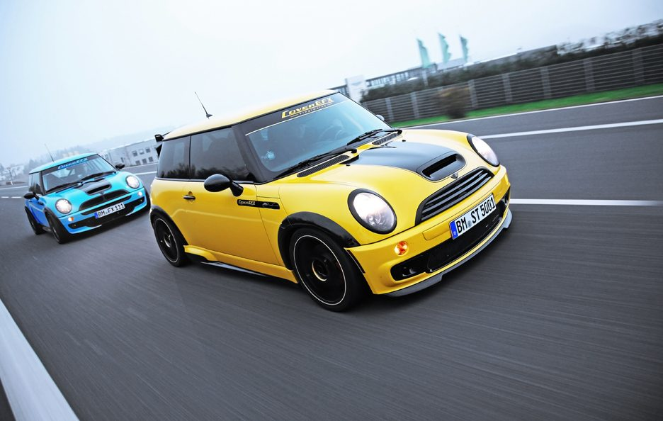 Mini Cooper S JWC R53 by CoverEFX - In motion frontale