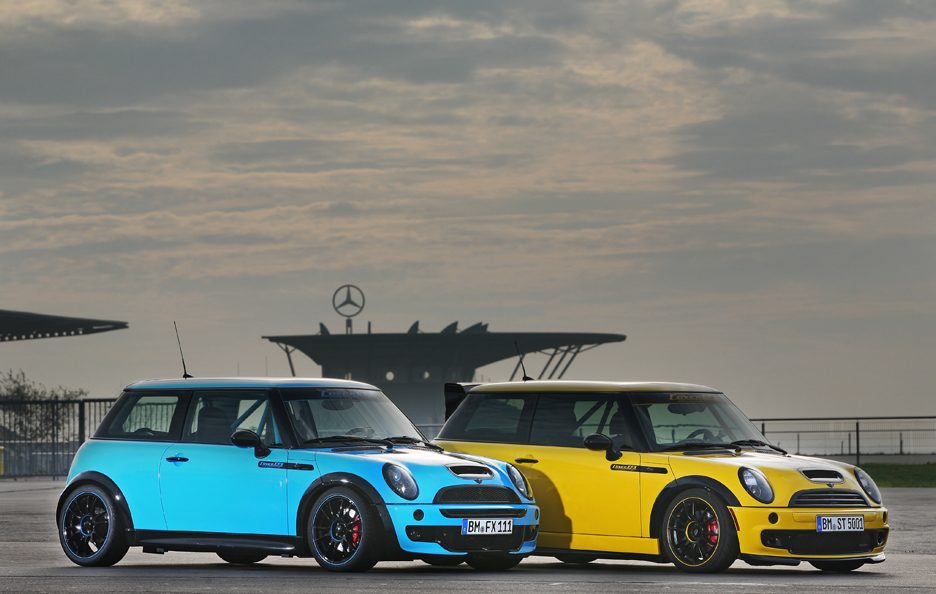 Mini Cooper S JWC R53 by CoverEFX - Profilo