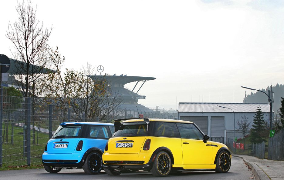 Mini Cooper S JWC R53 by CoverEFX - Profilo posteriore