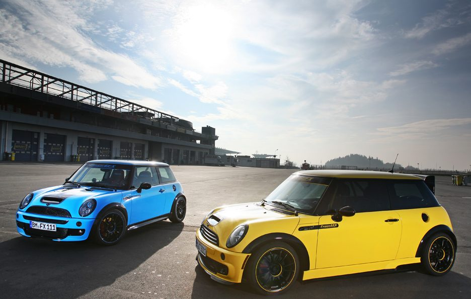 Mini Cooper S JWC R53 by CoverEFX - Stile