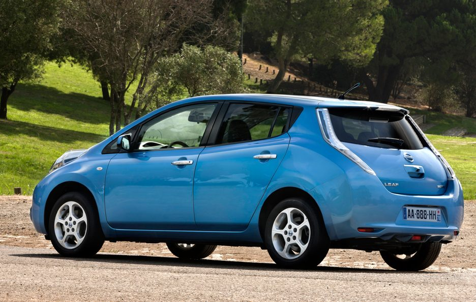 Nissan Leaf - Laterale