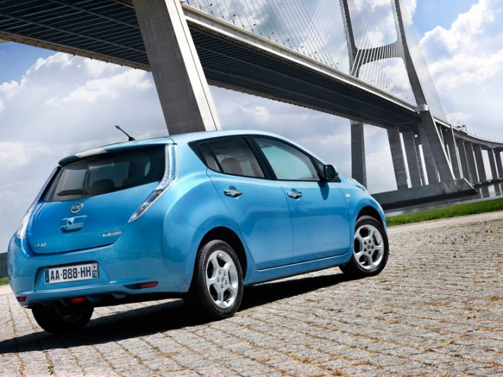Nissan Leaf - Posteriore