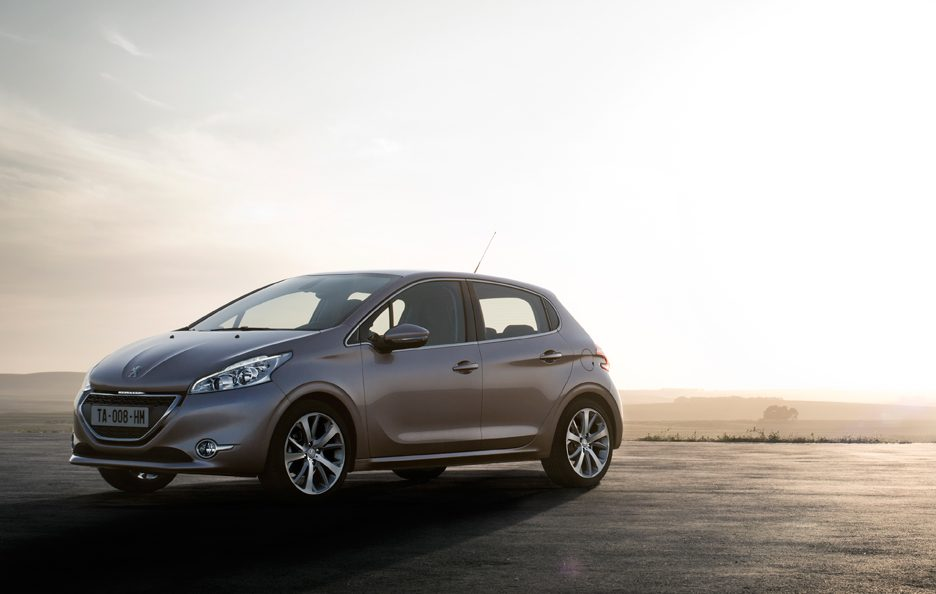 Peugeot 208 - Silhouette