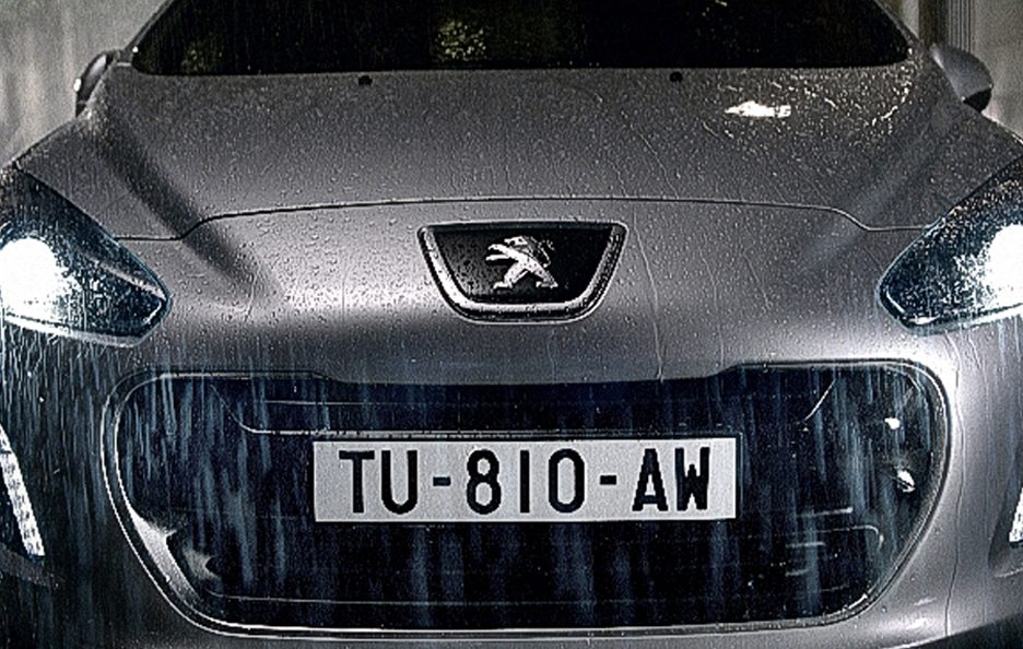 Peugeot 308 Frontale