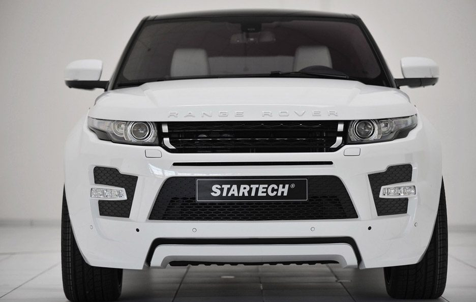 Range Rover Evoque by Startech (bianco) - Frontale