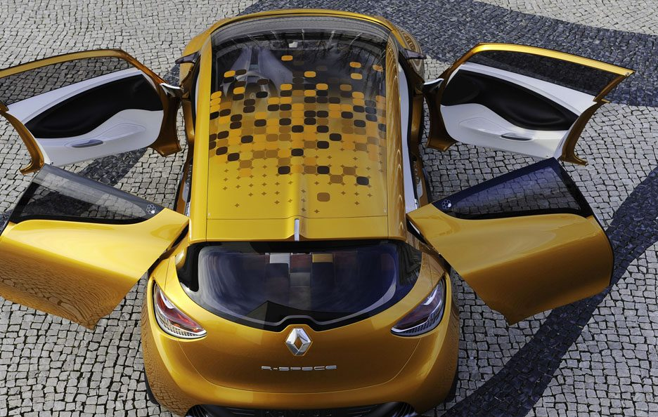 Renault R-Space - Dall'alto