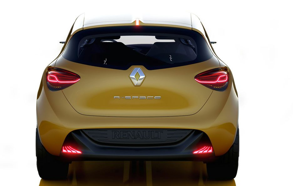 Renault R-Space - Posteriore