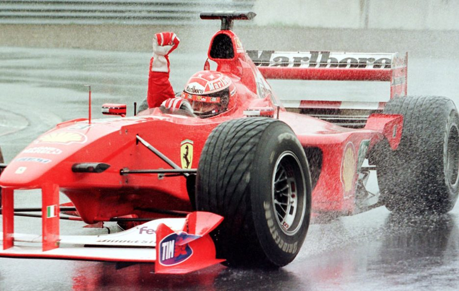 Schumacher Photo Story - Montreal 2000