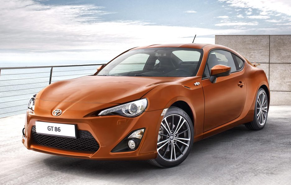 Toyota GT 86 - Frontale