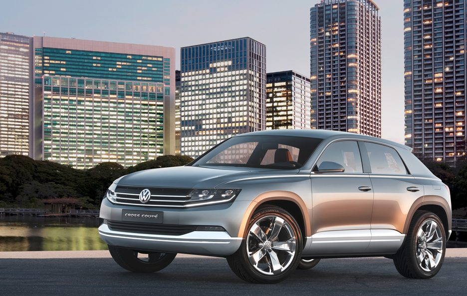 Volkswagen Cross Coupé Concept - Design