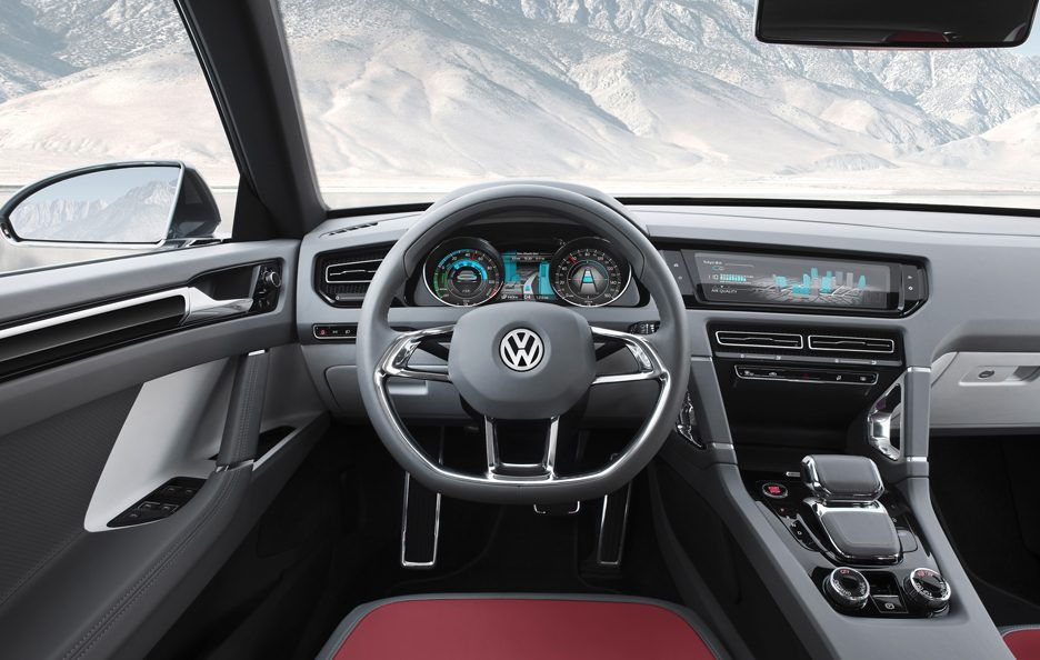 Volkswagen Cross Coupé Concept - Posto guida