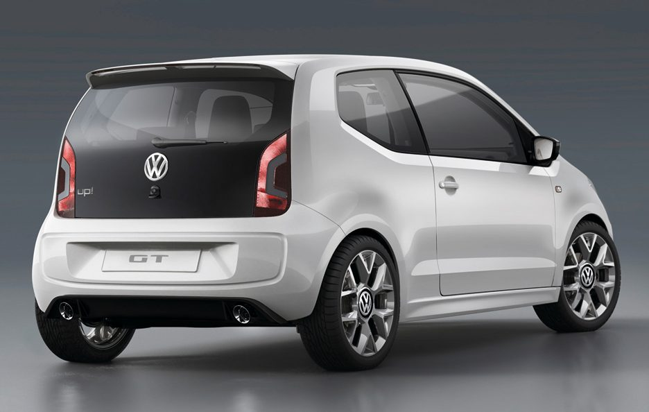 Volkswagen Up! GT - Il posteriore