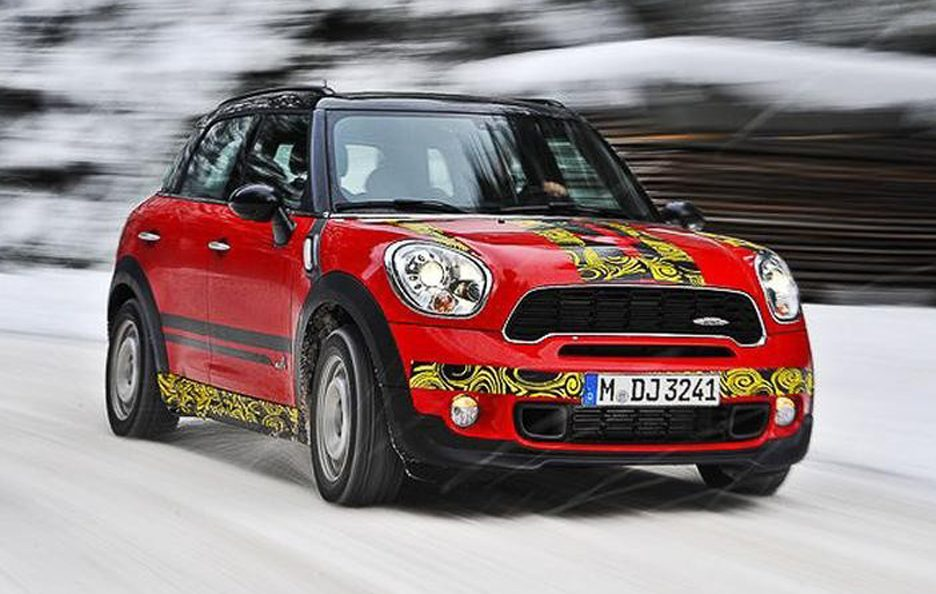Mini Countryman John Cooper Works - Frontale