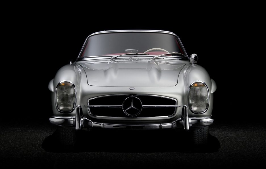 16 - Mercedes 300 SL frontale