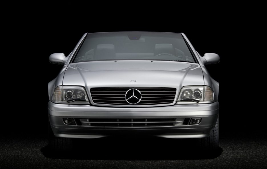 33 - Mercedes SL R129 frontale