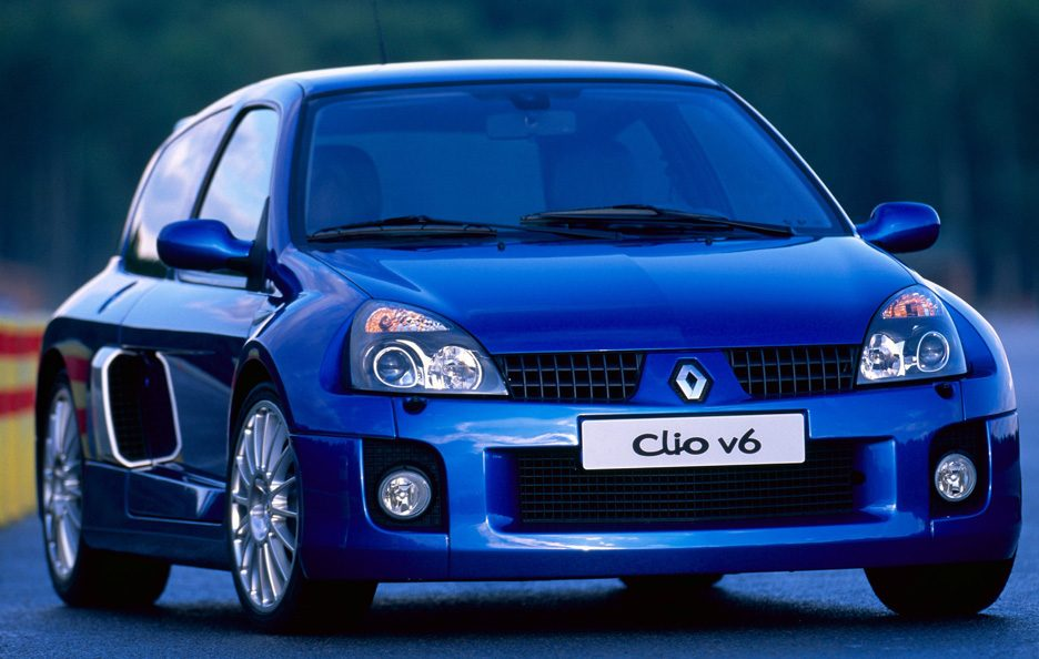 36 - Renault Clio V6 restyling