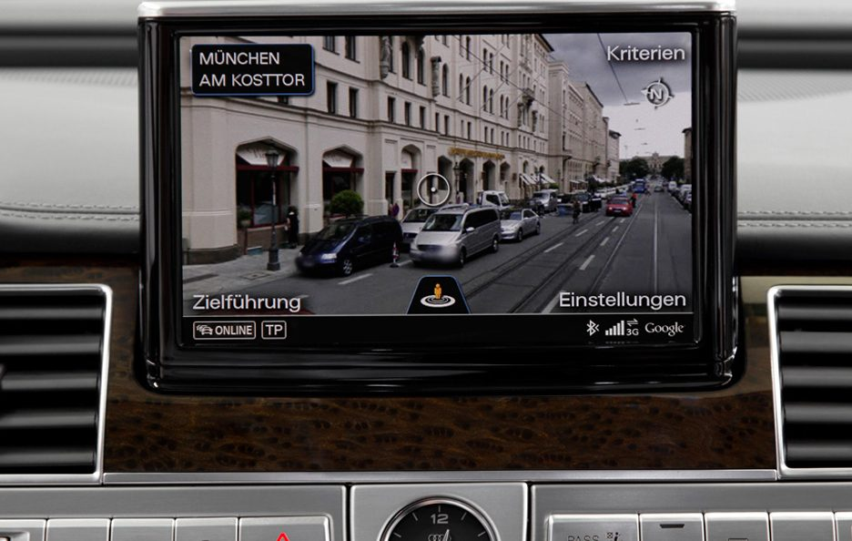 Audi Connect Google Street View