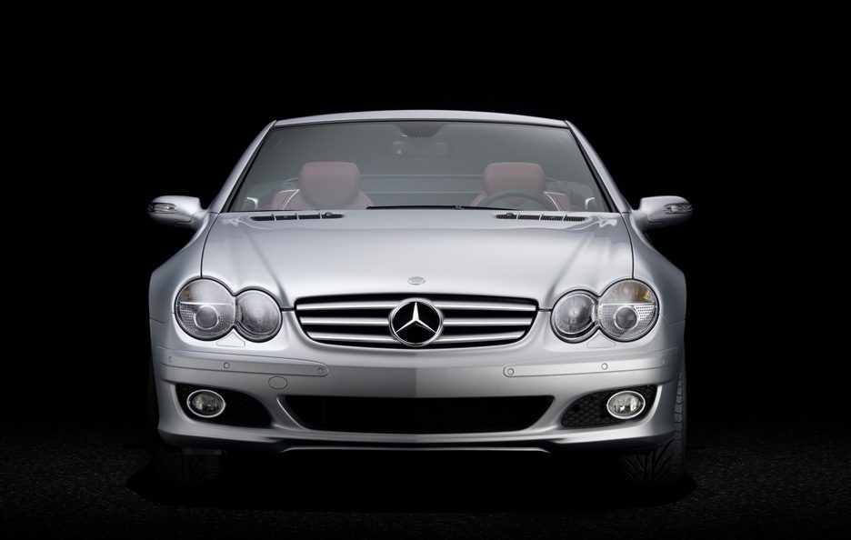 43 - Mercedes SL R230 frontale
