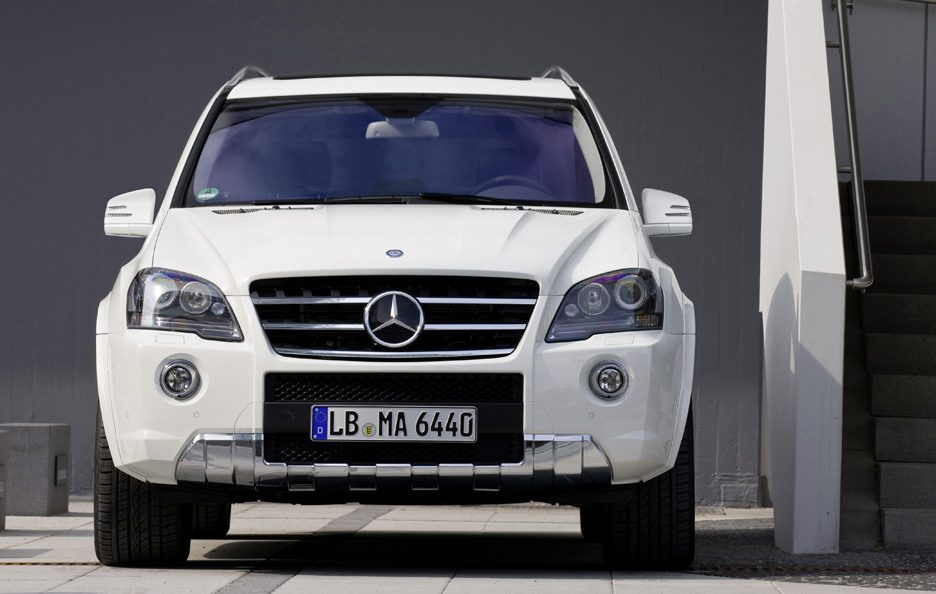 45 - Mercedes classe M W164 restyling AMG frontale