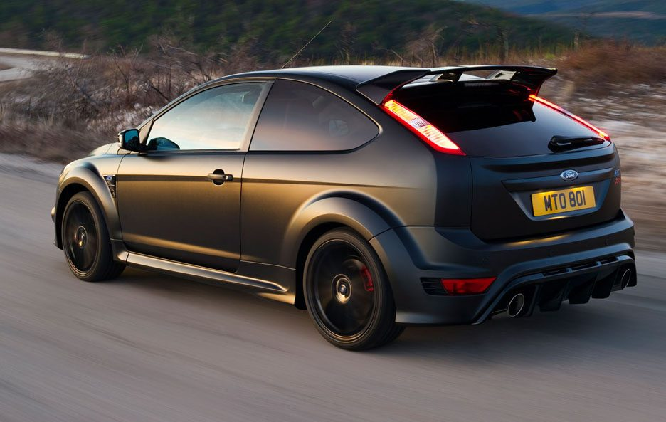 50 - Ford Focus RS 500 tre quarti posteriore
