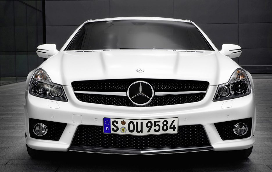 9 - Mercedes SL R230 restyling AMG frontale