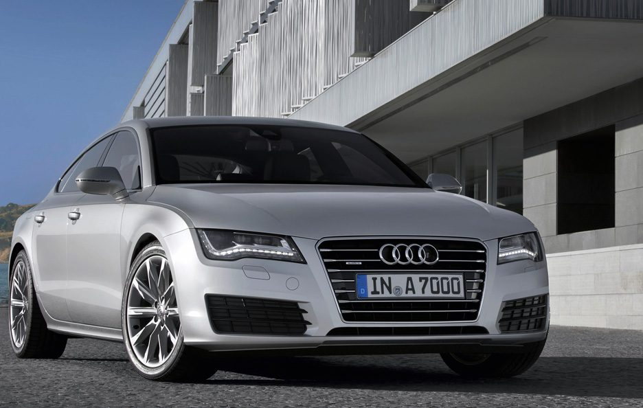 Audi A7 - Frontale basso