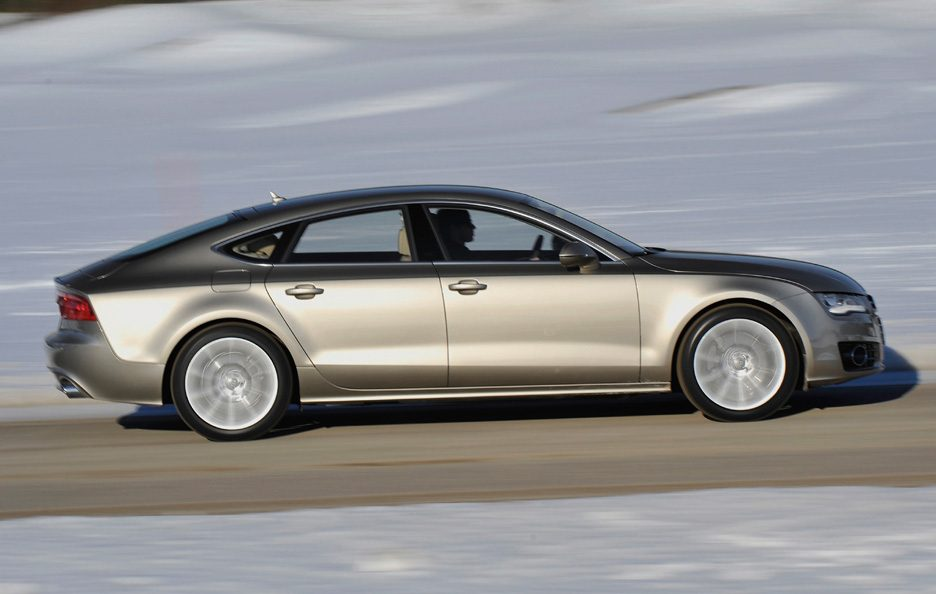 Audi A7 - Laterale in motion