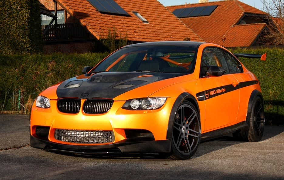 BMW M3 by Manhart Racing - Profilo
