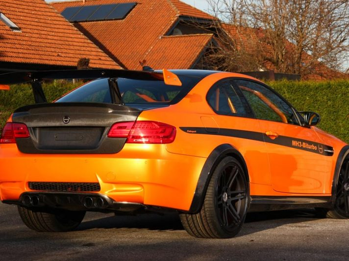 BMW M3 by Manhart Racing - Profilo posteriore