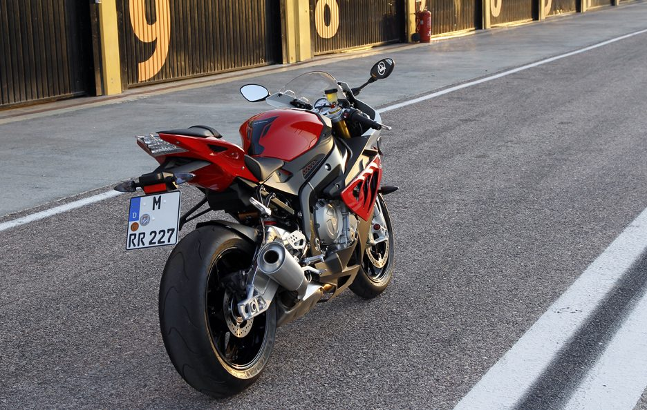 BMW S1000RR 2012 - Posteriore